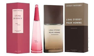 Free Issay Miyake Rose & Wood Fragrance