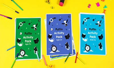 Free Kids Puffin Activity Pack
