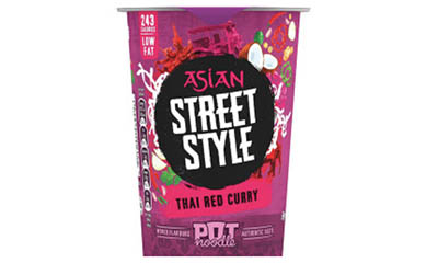 Free Thai Red Curry Pot Noodle