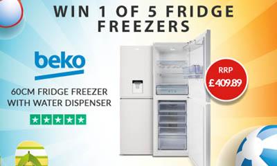 Win 1 of 5 Beko Fridge Freezers