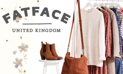 Win a £1,000 FatFace Autumn Wardrobe