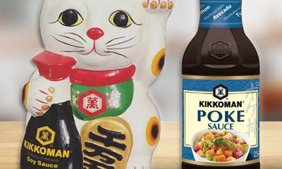 Win a Kikkoman Happy Cat & Poke Sauce