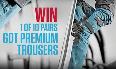 Win a Pair of GDT Premium Trousers