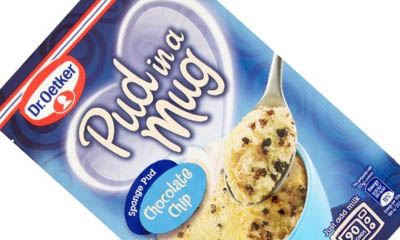 Free Dr Oetker Chocolate Chip Pudding in a Mug