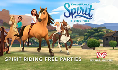 Free DreamWorks Spirit Riding Pack