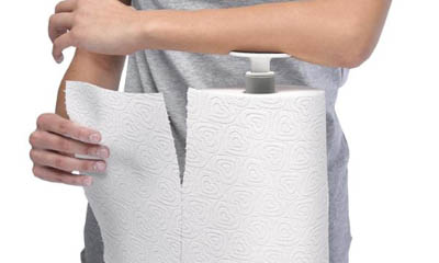 Free Guzzini Push Stop Kitchen Roll Holder