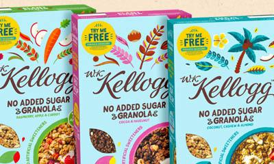 Free Kellogg's Granola Cereal Box