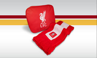 Free Liverpool Scarf & Travel Bag