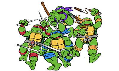 Free Ninja Turtle Stickers