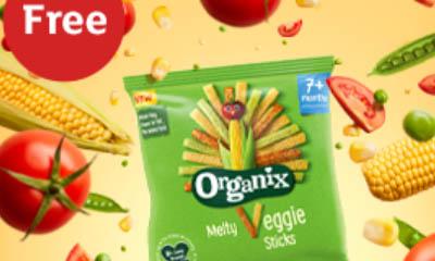 Free Organix Veggie Sticks