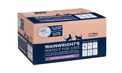 Free Wainwright's Cat Food (Worth £7)
