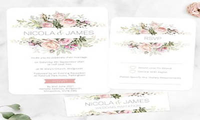Free Wedding Stationary from WHSmith