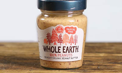 Free Year's Supply of Whole Earth Peanut Butter