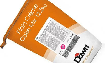 Win a 3kg Bag of Dawn Cake Mix