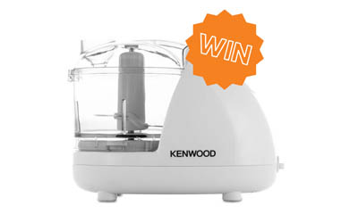 Win a Kenwood Compact Food Processor