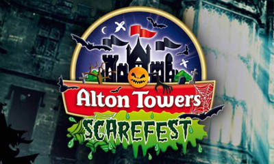 Win an Alton Towers Halloween Scarefest Package