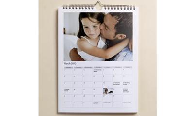 Free A4 Calendar (Worth £19.99)