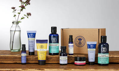 Free Beauty Box from Neals Yard