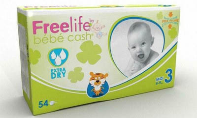 Free Bébé Cash Nappies