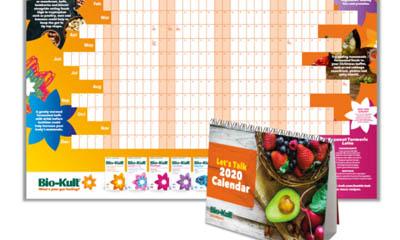 Free Bio-Kult 2020 Desk Calendar