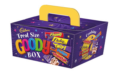 Free Cadbury Halloween Goody Box