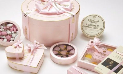 Free Charbonnel et Walker Pink Celebration Hamper