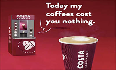 Free Costa Coffee – Today Only!