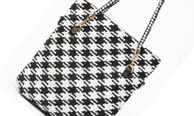 Free Dogtooth Tote Bag