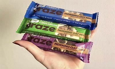 Free Graze Kids Snack Bars
