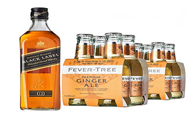 Free Johnnie Walker Whisky Bottle