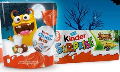 Free Kinder Halloween Chocolate Bundles