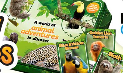 Free Kinder World of Animals Adventure Pack