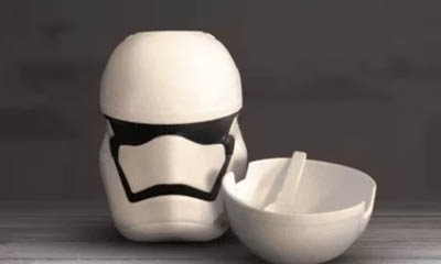Free Star Wars Cereal Bowl