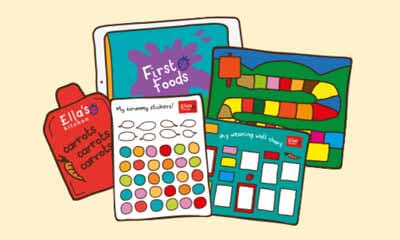 Free Stickers and Weaning Wall Chart