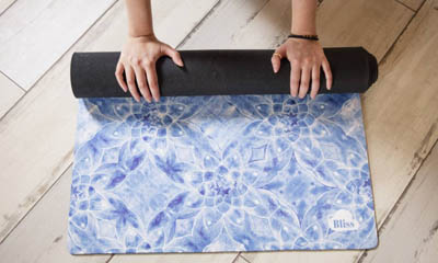 Win 1 of 4 Natural Yoga Mats