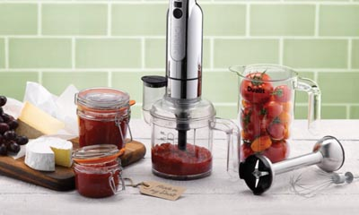 Win a Dualit Hand Blender Set