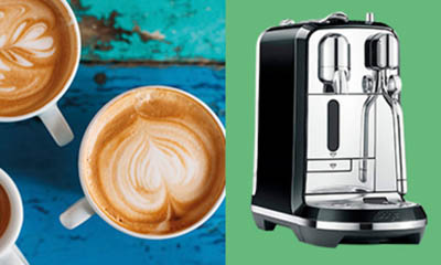 Win a Nespresso Coffee Machine