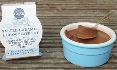 Win a Pots & Co Salted Caramel Delights 4-Pack Pudding