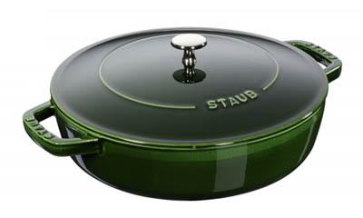 Win a Staub Cast Iron Saute Pan