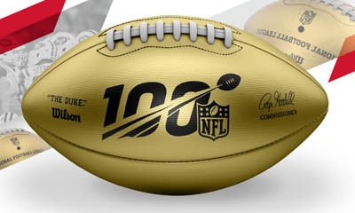 Win a Wilson Gold Football