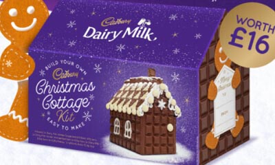 Free Cadbury Chistmas Cottage Chocolate Kits