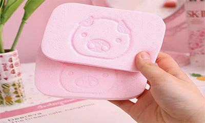 Free Pink Beauty Sponge