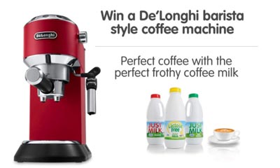 Win a Barista Style Home Coffee Machine