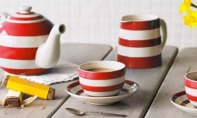Win a Cornishware Tea Set for Two