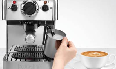 Win a Dualit 3 in 1 Coffee Machine