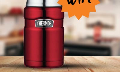Win a Thermos Food Flask with Kikkoman