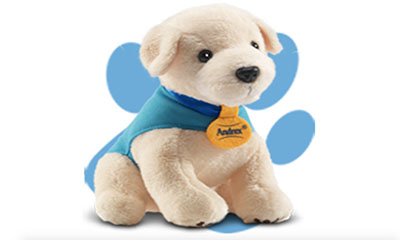 Free Andrex Puppy Soft Toy