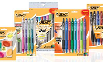 Free BIC Gel Pens & Razors