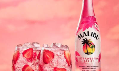 Free Bottles of Malibu Strawberry Spritz