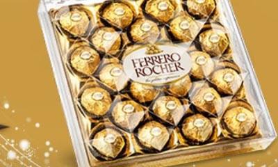 Free Box of Ferrero Rocher